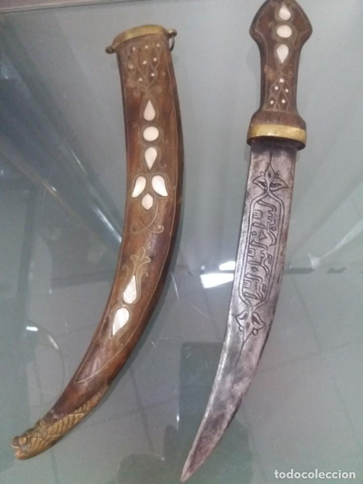 DAGA ÁRABE (Militar - Armas Blancas Originales de Fabricación Posterior a 1945)