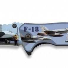 Militaria: NAVAJA ALBAINOX IMPRESIÓN 3D AVIÓN. 8.2 MOD. REGIST. DISEÑADO EN ESPAÑA MARCA: ALBAINOX NAV 18372-A. Lote 148167714
