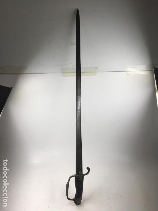 Militaria: espada antigua militar 93 cm. de largo total. - Foto 3 - 148753622