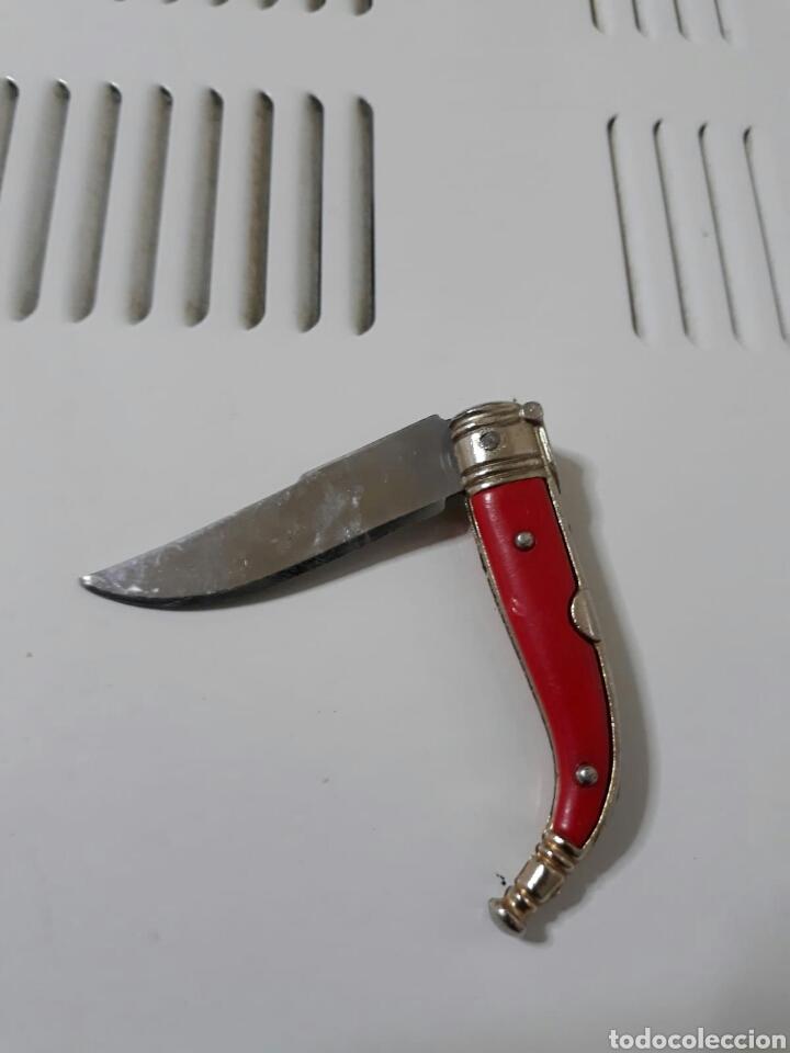 NAVAJA MINIATURA ANTIGUA (Militar - Armas Blancas Originales de Fabricación Posterior a 1945)