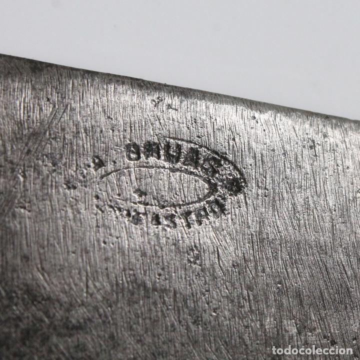 Militaria: Cuchillo Aragonés del Siglo XIX Firmado A. Gruas Barbastro - Foto 3 - 151203346