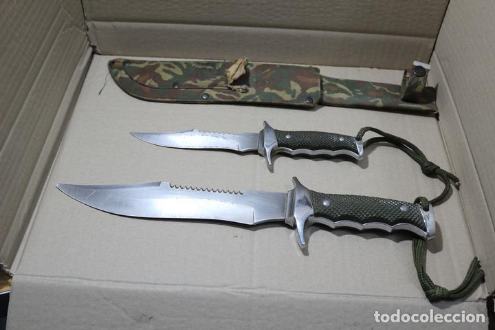 CUCHILLOS THE LAST FIGHTER (Militar - Armas Blancas Originales de Fabricación Posterior a 1945)