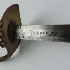 Militaria: SABLE ESPAÑOL DE CABALLERIA, MARCADO EN LA HOJA FABRICA DE TOLEDO AÑO DE 1868. BUEN ESTADO DE CONSER. Lote 151383358