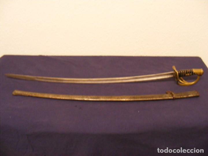 SABLE FRANCES DE CABALLERIA MODELO 1822 (Militar - Armas Blancas Originales Fabricadas entre 1851 y 1945)
