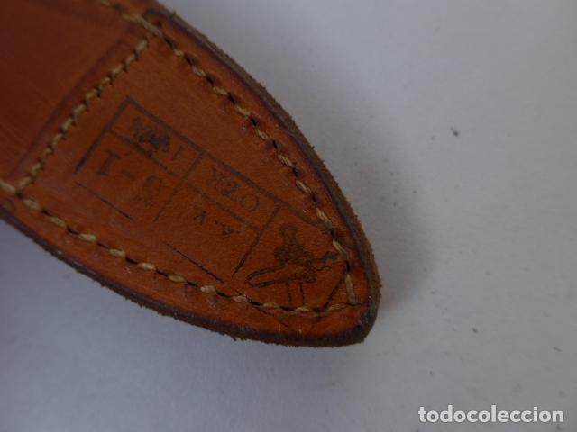 Militaria: * Antigua bayoneta checa comunista, modelo cachas de baquelita, original. ZX - Foto 9 - 152963434