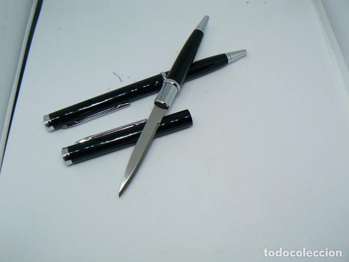 Boligrafo - cuchillo  arma secreta - Sold at Auction - 158128592