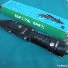 Militaria: CUCHILLO SURVIVAL KNIFER. Lote 154218914