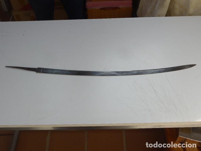 Militaria: * Antigua hoja de sable o espada curvada modelo 1862 para tropa de artillería. original. ZX - Foto 2 - 154551386