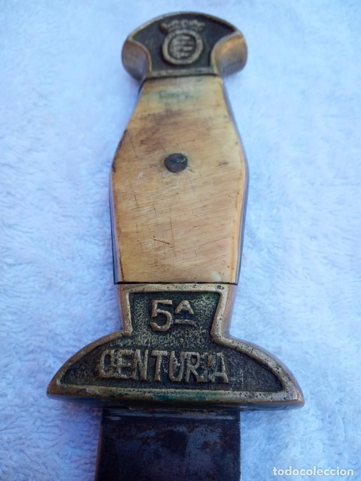 Militaria: Daga de falange epoca guerra civil - Foto 4 - 154775182