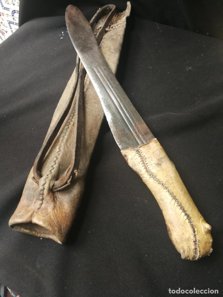 MACHETE NO ES COPIA CREO QUE ES MASAI (Militar - Armas Blancas Originales Fabricadas entre 1851 y 1945)