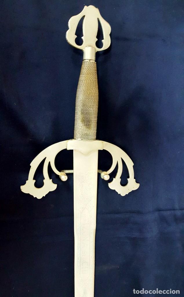 Militaria: espada del Cid Campeador La tizona - Foto 2 - 155047518