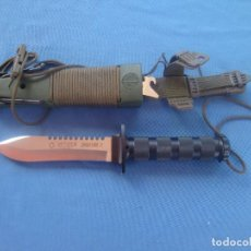 Militaria: CUCHILLO AITOR MODELO JUNGLE KING II DE SUPERVIVENCIA. Lote 155357998