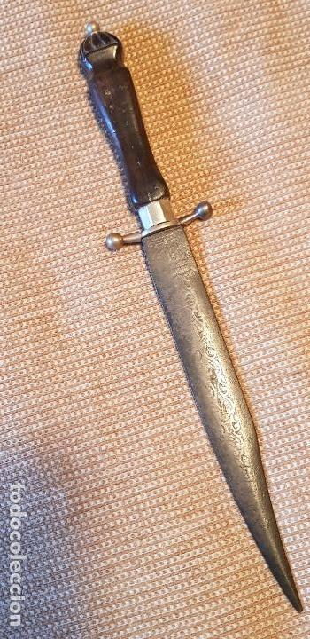 Militaria: Daga cuchillo antiguo colonial Toledo - Foto 5 - 155827914