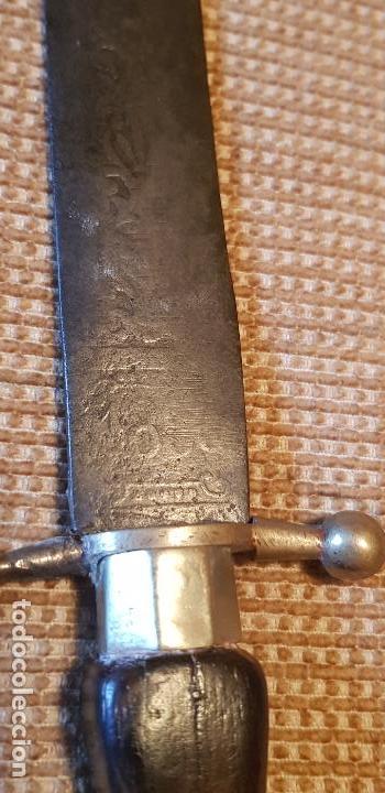 Militaria: Daga cuchillo antiguo colonial Toledo - Foto 9 - 155827914
