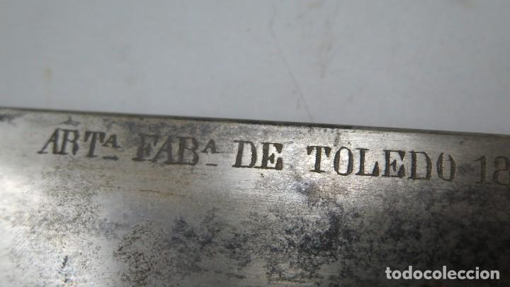 Militaria: MACHETE DE CUERPO INGENIERO DE MONTES. FABRICA ARTILLERIA DE TOLEDO. 1883 - Foto 5 - 155924606