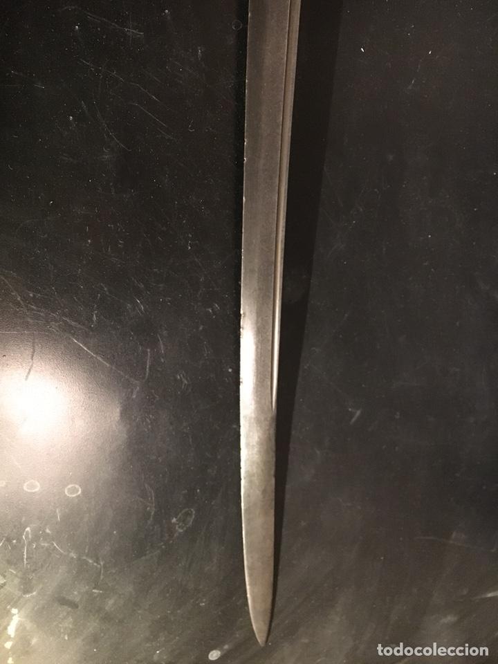 Militaria: Sable Espada Isabel II fabrica Toledo 1865 hoja grabada - Foto 10 - 156467877
