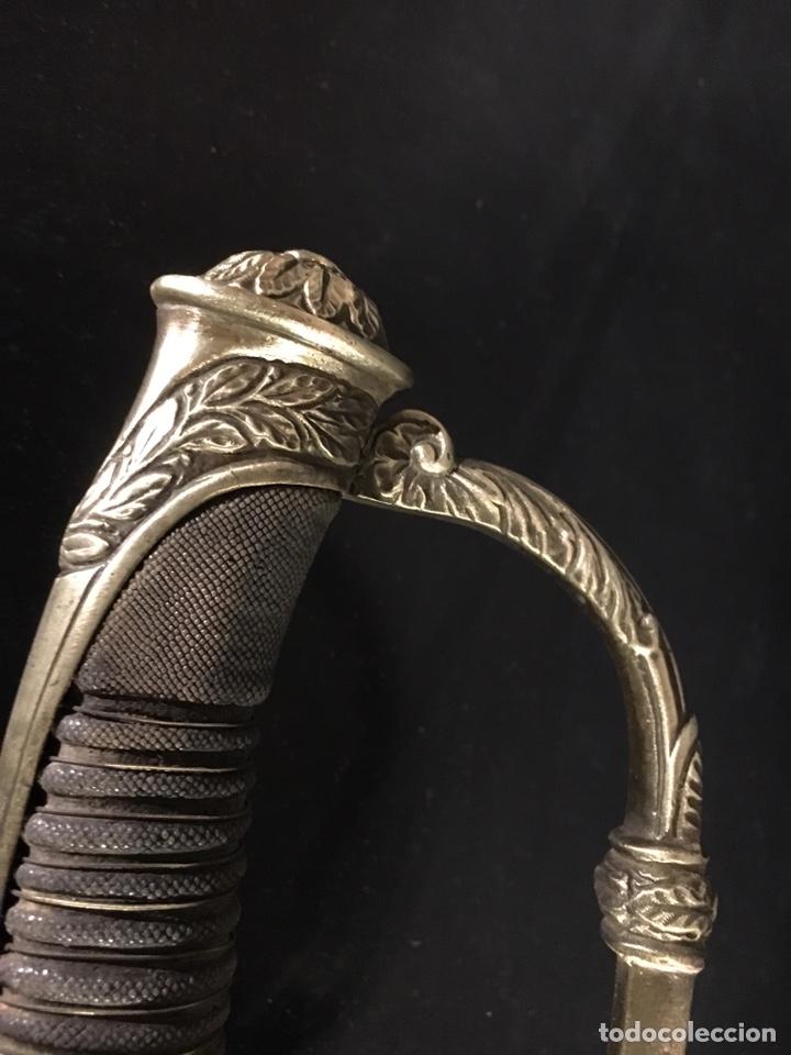 Militaria: Sable Espada Isabel II fabrica Toledo 1865 hoja grabada - Foto 13 - 156467877