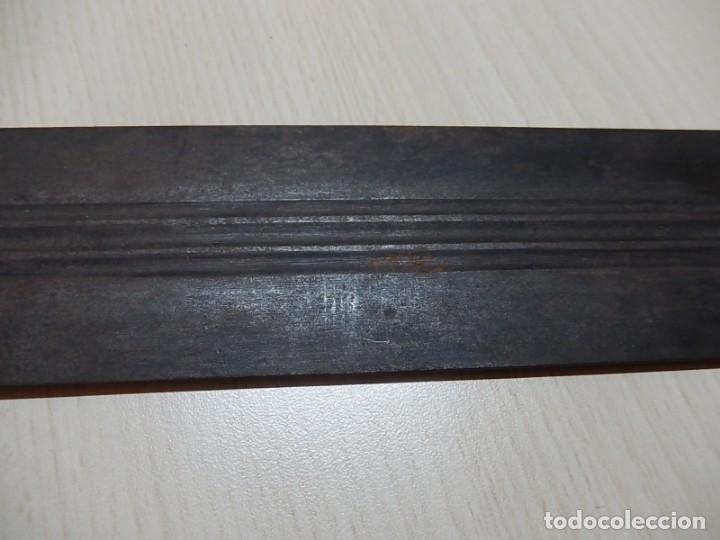 Militaria: Hoja de espada antigua. A catalogar. - Foto 17 - 158641362