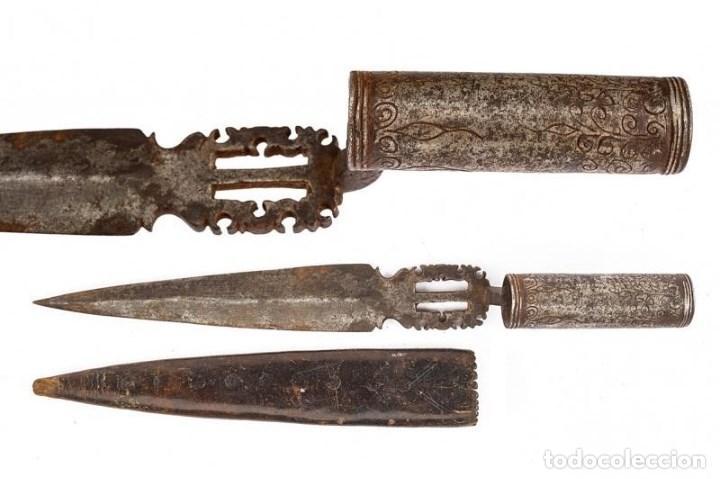 BAYONETA DE CAZA SIGLO XVII-XVIII (Militar - Armas Blancas Originales de Fabricación Anterior a 1850)