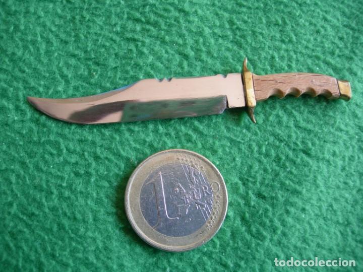 Militaria: Cuchillo-machete Bowie de MUELA Réplica en miniatura - Foto 2 - 159667750