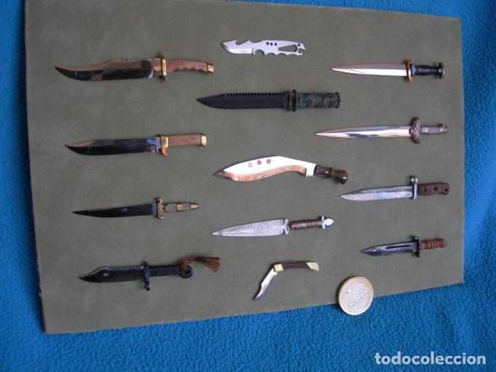 Militaria: CUCHILLO-MACHETE-BAYONETA AK-47 Réplica en miniatura - Foto 2 - 159670174