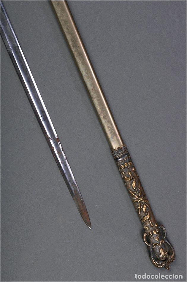 Militaria: Antigua Espada Masónica Americana. USA, 1900 - Foto 7 - 160243182
