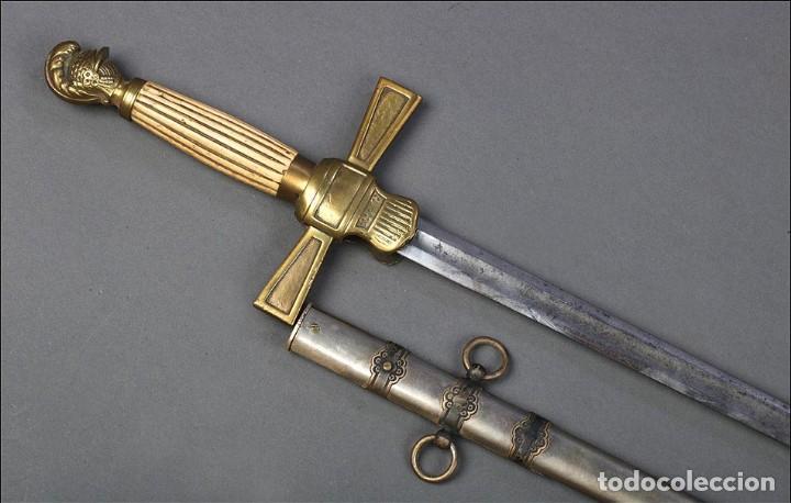 Militaria: Antigua Espada Masónica Americana. USA, 1900 - Foto 9 - 160243182