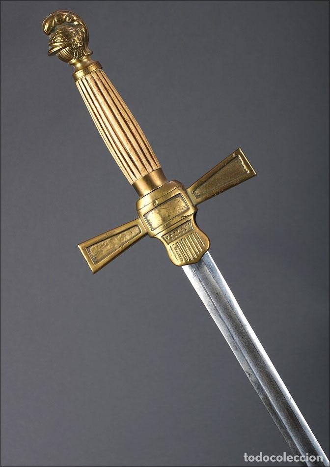 Militaria: Antigua Espada Masónica Americana. USA, 1900 - Foto 18 - 160243182