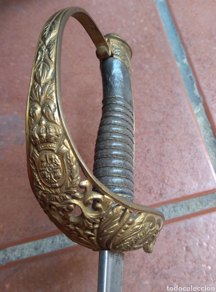 ANTIGUO SABLE - FÁBRICA DE TOLEDO - VETERINARIA MILITAR - LEER DESCRIPCIÓN - (Militar - Armas Blancas Originales Fabricadas entre 1851 y 1945)