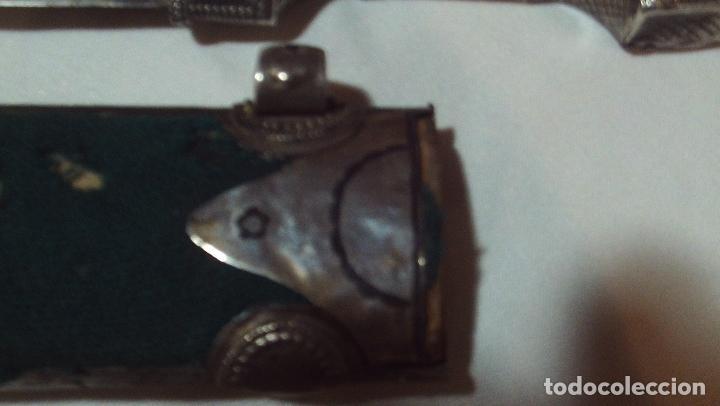 Militaria: cuchillo daga kindjal ruso ,mediados xix plata pavonada y filigrana de plata,finisima calidad - Foto 9 - 160593326