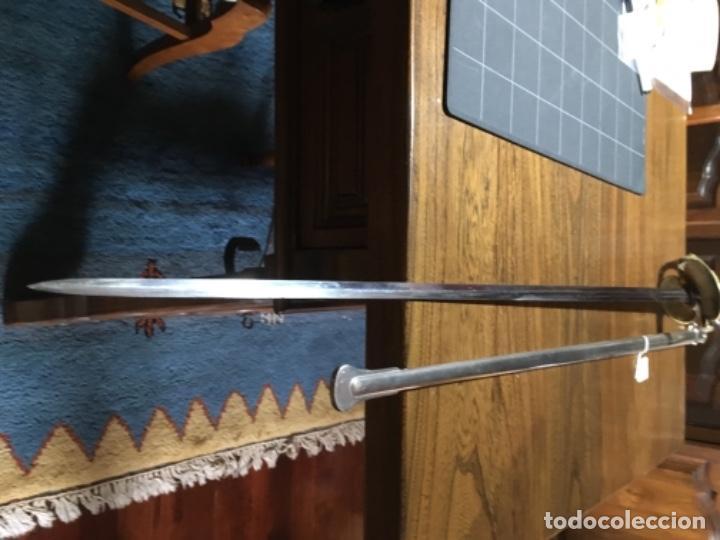 Militaria: Espada oficial de marina Francia Klingenthal 1837 - Foto 2 - 161026002