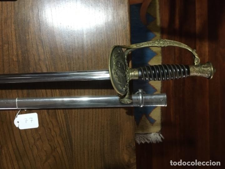 Militaria: Espada oficial de marina Francia Klingenthal 1837 - Foto 3 - 161026002
