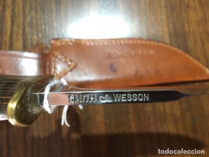 Militaria: Smith & Wesson USA Bowie Blackie Collins Survival 6030 - Foto 4 - 161154018