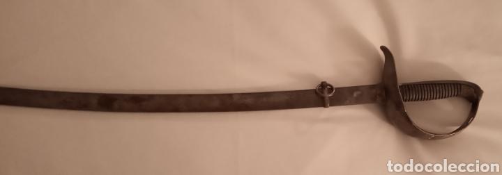 Militaria: Espada Sable oficial de infantería modelo 1887 Militar Hoja grabada en Toledo ARTA FABA 1889 - Foto 8 - 163731128