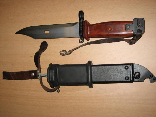 Militaria: Bayoneta AK 74. - Foto 3 - 255353975