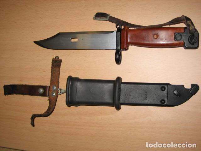 BAYONETA AK 74. (Militar - Armas Blancas Originales de Fabricación Posterior a 1945)