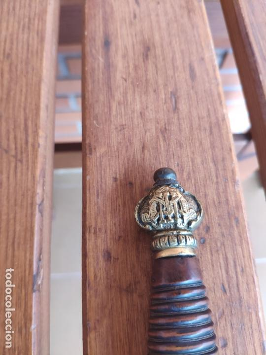 Militaria: Espada ceñir, espadin oficial infantería Alfonso XIII - Foto 3 - 167059204