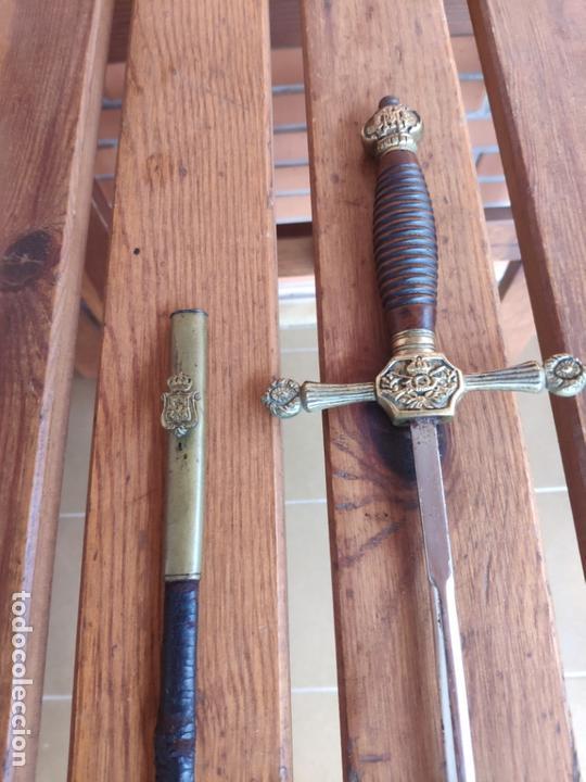 ESPADA CEÑIR, ESPADIN OFICIAL INFANTERÍA ALFONSO XIII (Militar - Armas Blancas Originales Fabricadas entre 1851 y 1945)