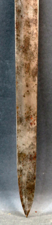 Militaria: Espada reproducción de la Tizona de El Cid Campeador en hierro años 60 - Foto 5 - 168076804