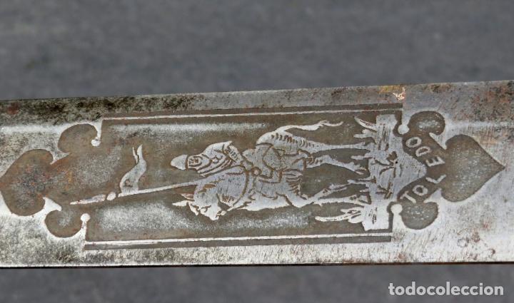 Militaria: Espada reproducción de la Tizona de El Cid Campeador en hierro años 60 - Foto 13 - 168076804