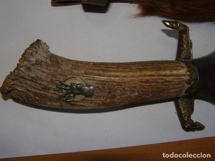 Militaria: Cuchillo de caza tipo bowie, marca MUELA REHALERO. - Foto 3 - 168704084
