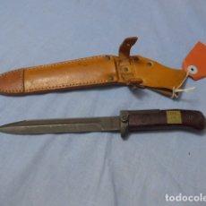 Militaria: * ANTIGUA BAYONETA CHECOSLOVACA DE 1978, CHECOSLOVAQUIA, ORIGINAL. ZX. Lote 169337448