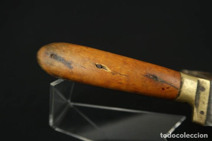Militaria: Antiguo cuchillo de sastago Siglo XIX - Foto 15 - 170549100
