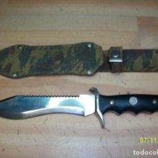Militaria: MACHETE MILITAR CON FUNDA. Lote 171053724