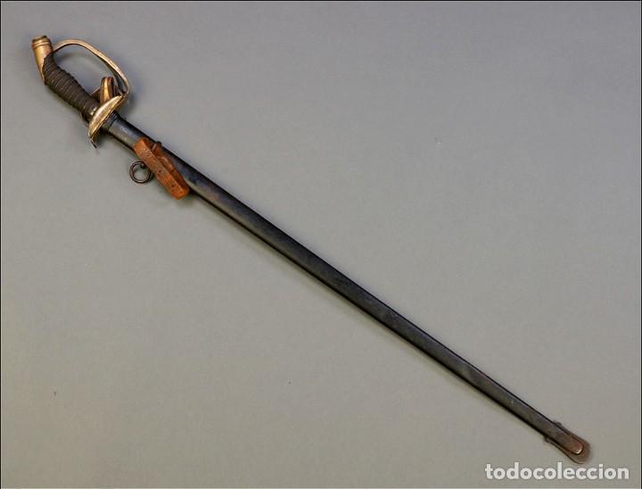 Militaria: Espada o Sable de Oficial de Infantería Prusiano. Modelo 1889. Alemania circa 1900 - Foto 3 - 171509374