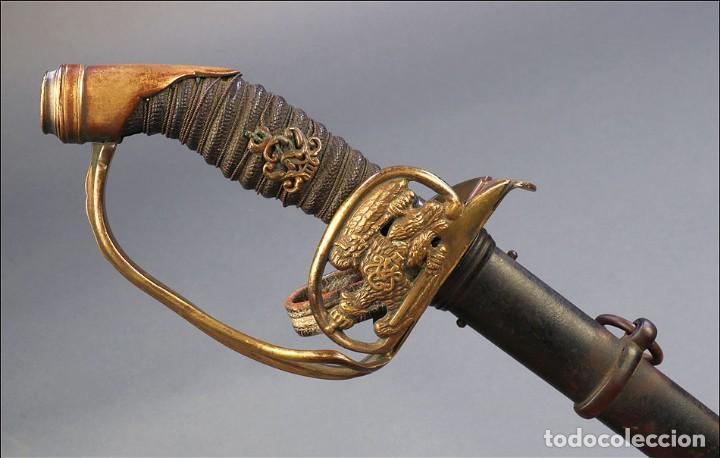 Militaria: Espada o Sable de Oficial de Infantería Prusiano. Modelo 1889. Alemania circa 1900 - Foto 5 - 171509374
