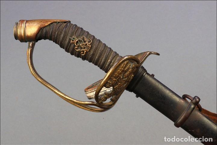Militaria: Espada o Sable de Oficial de Infantería Prusiano. Modelo 1889. Alemania circa 1900 - Foto 6 - 171509374