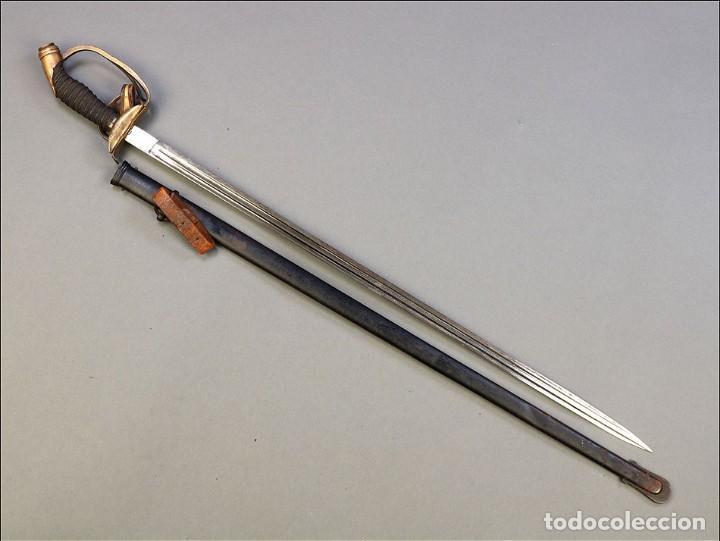 Militaria: Espada o Sable de Oficial de Infantería Prusiano. Modelo 1889. Alemania circa 1900 - Foto 12 - 171509374