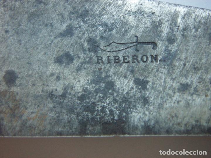 Militaria: Vieja navaja Bandoleros marca RIBERON 40,5 cm abierta y 22,5 cm cerrada - Foto 10 - 171845349