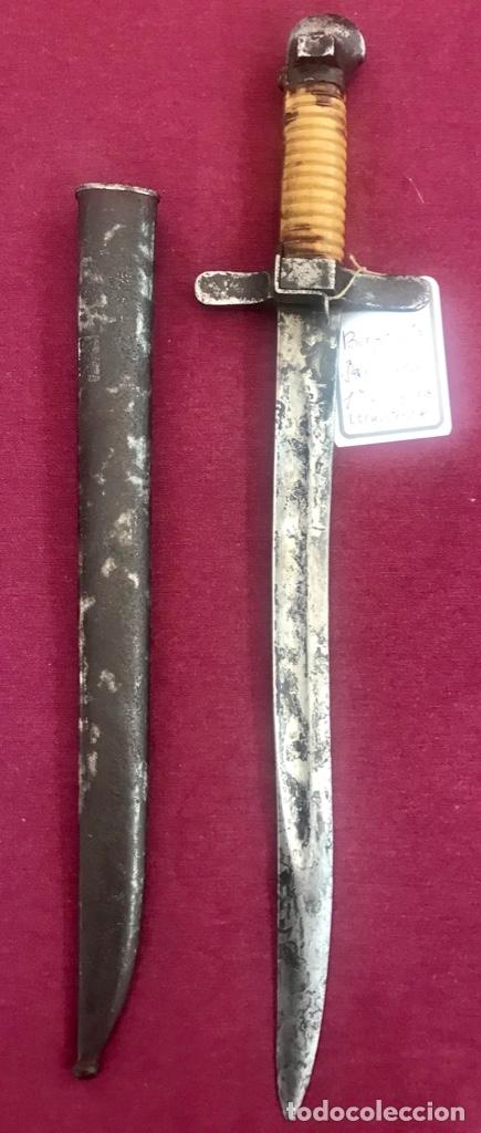 BAYONETA JAPONESA 1ª GUERRA MUNDIAL (MUY RARA) (Militar - Armas Blancas Originales Fabricadas entre 1851 y 1945)
